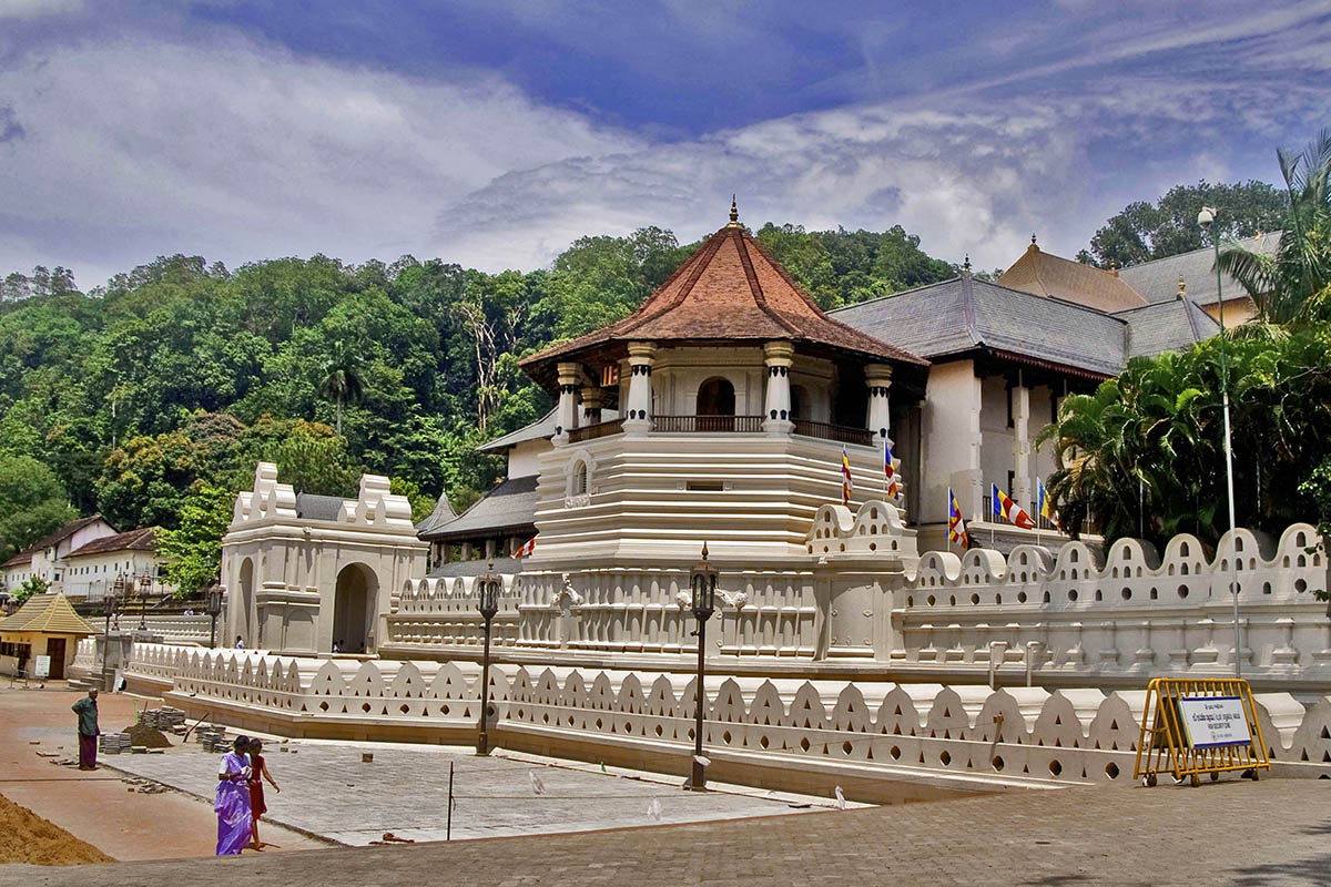 Temple of the tooth from Kandy city Stay Kandy Sri Lanka 1